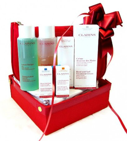 Clarins-Gift-Basket-Competition